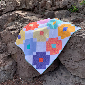 Flower Tile Quilt Kit