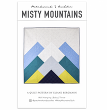 Load image into Gallery viewer, Misty Mountains Quilt Pattern