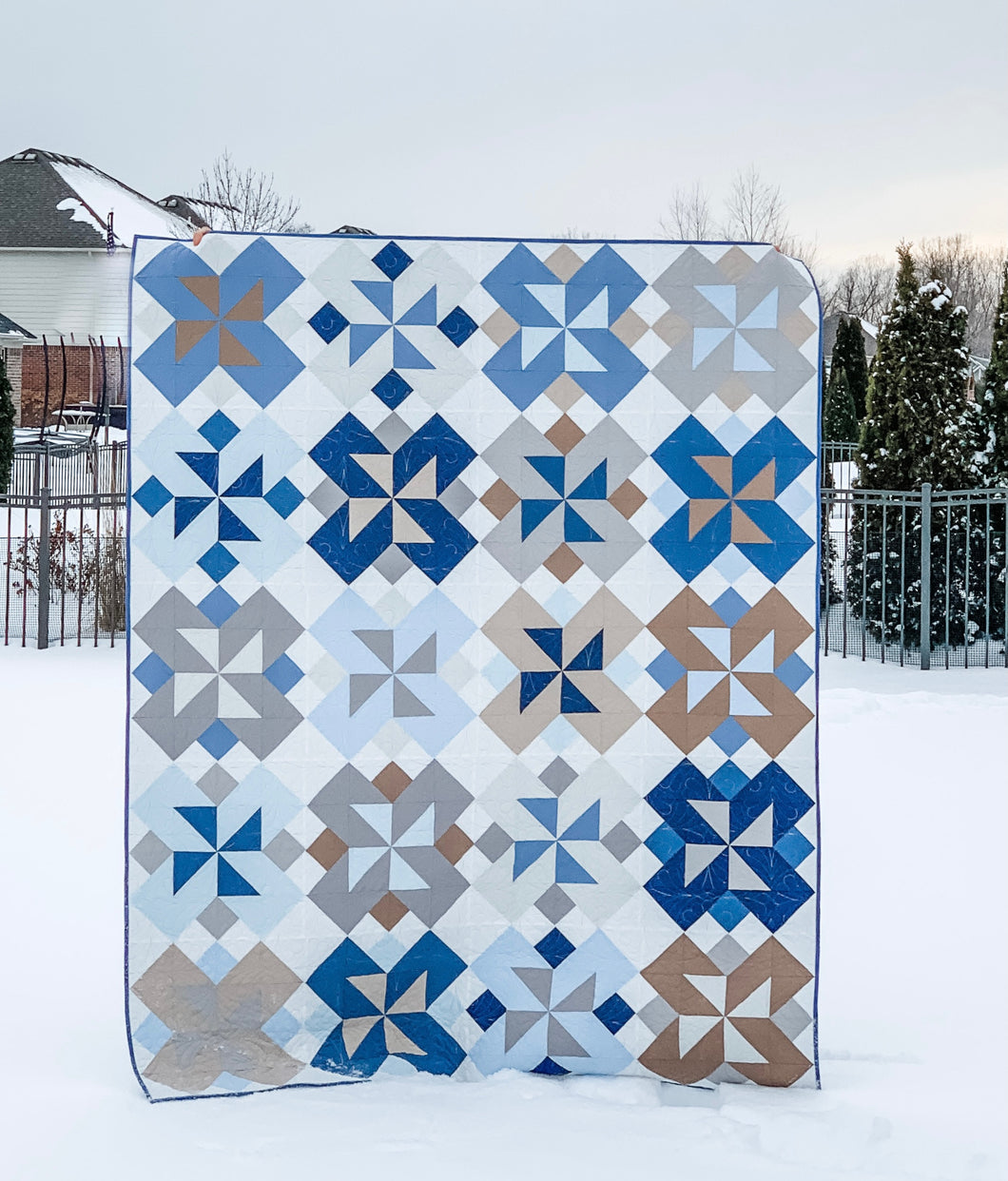 Rivermill Quilt Bundle by Running Stitch Quilts