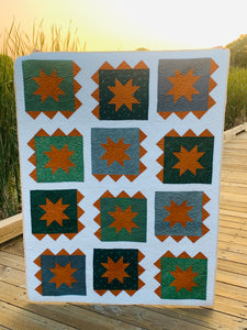 Fall Zippy Lap Size Quilt Bundle
