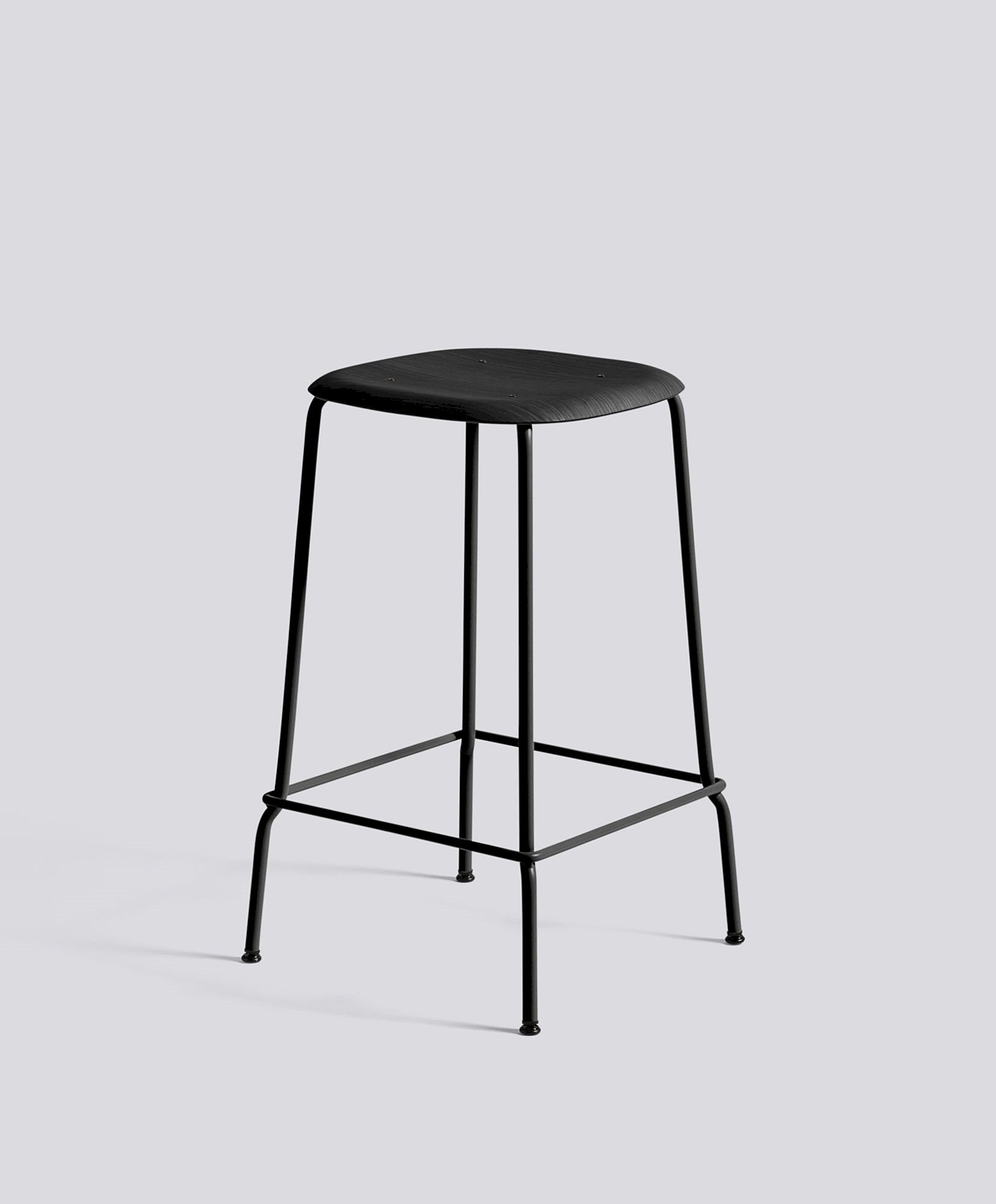 Soft Edge 30 Stool, Oak Seat