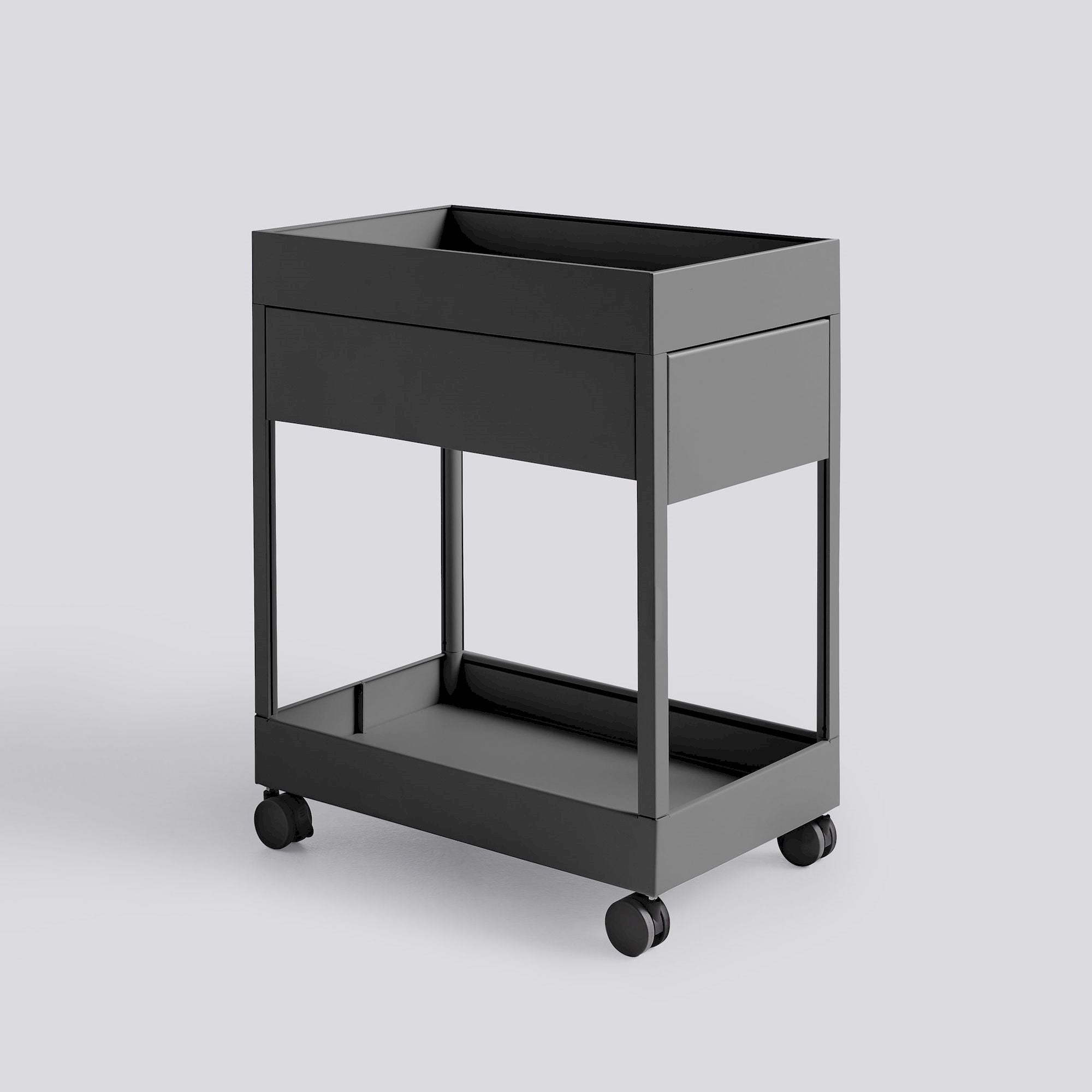 New order Trolley A, 1 drawer & tray top
