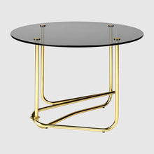 Mategot Side Table Smoked Glass