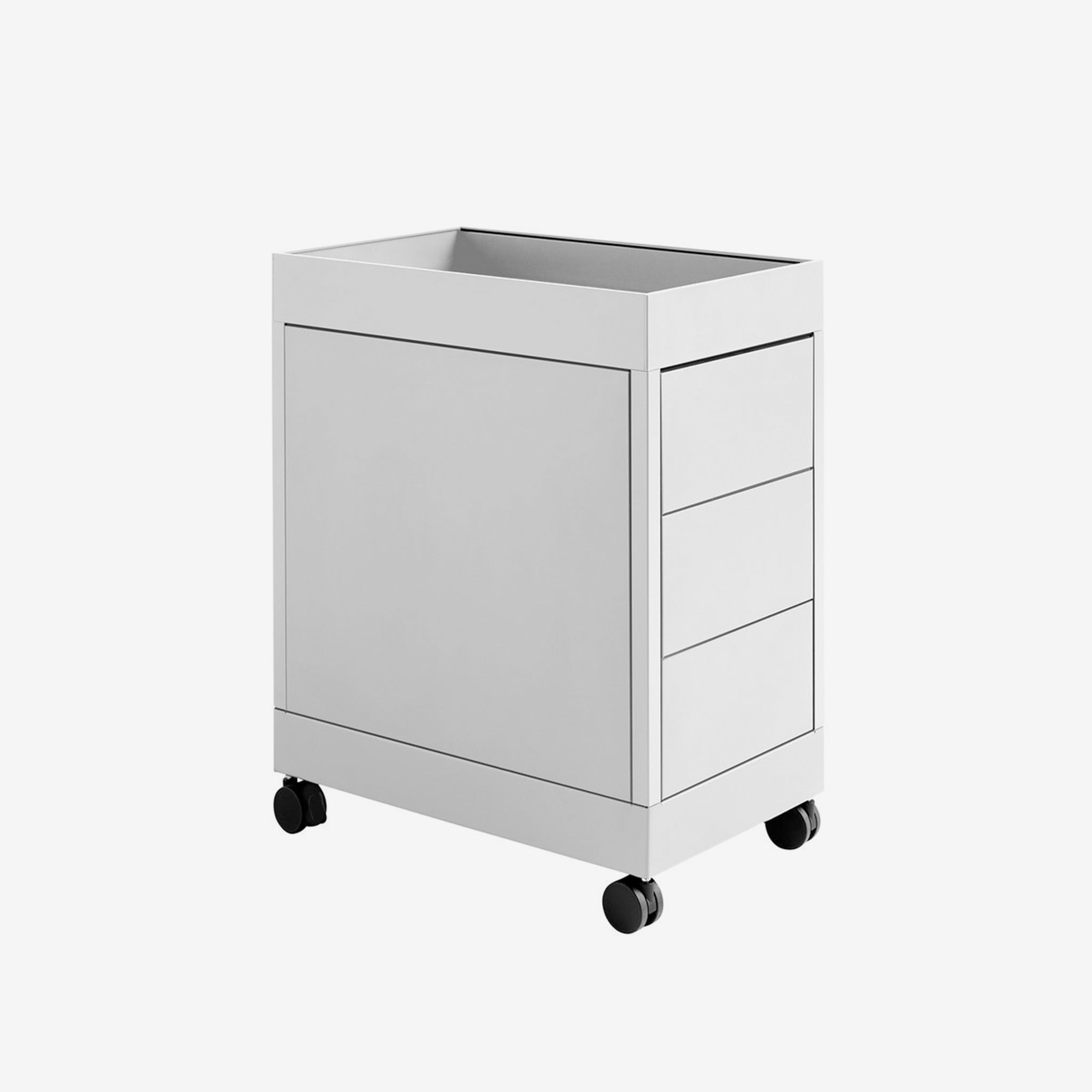 New order Trolley B 3 drawers & tray top