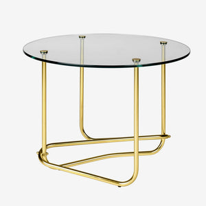 Mategot Side Table - Clear Glass