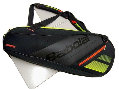 SOLD OUT - Babolat Team Line Expandable Racket Bag (Black /Yellow /Orange)