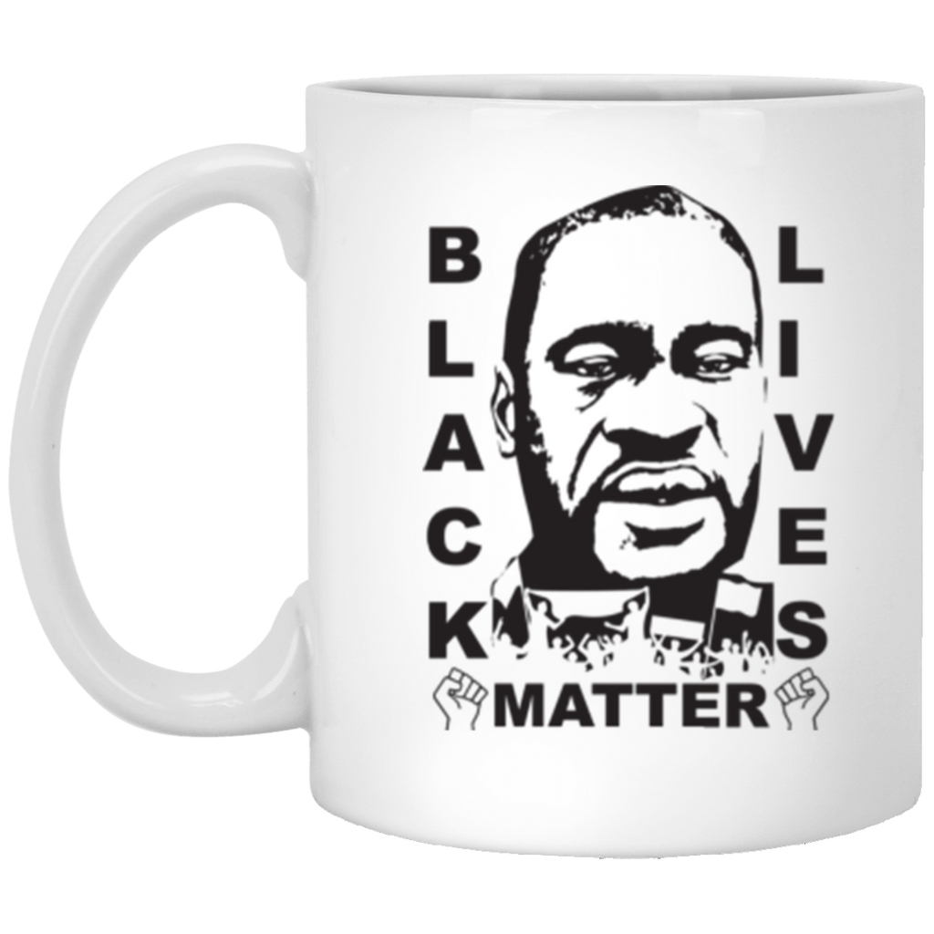 Black Lives Matter 5 White Mug