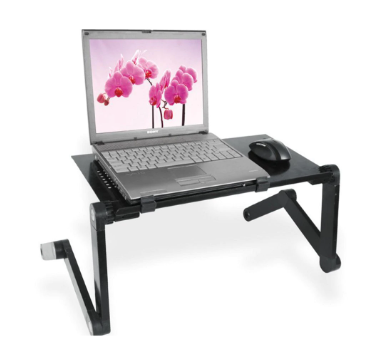 ToolMax™ Adjustable Folding Desk and Portable Laptop Table for Home Office