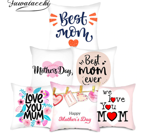 SoftCloth™ Best Mom Pillow Case Cover for Mothers Day