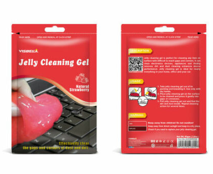 Magic Cleaning Jelly Slime for Car Interior and Keyboard Dust