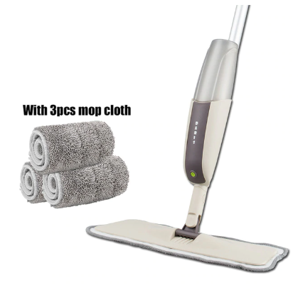 MATRIXCLEAN™ Spray Floor Mop with Replacement Microfiber Pads
