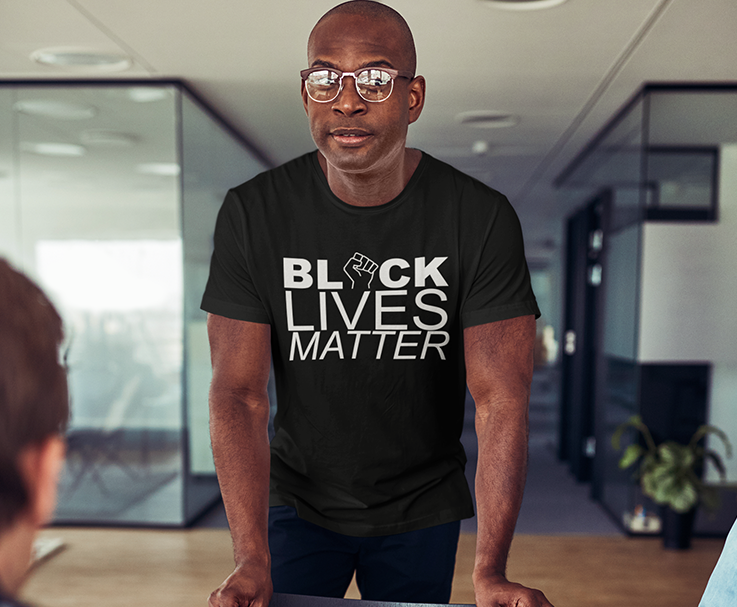 Black Lives Matter 4  T-Shirt