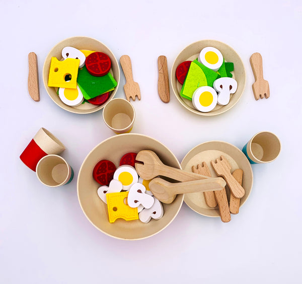 Bamboo Play Set 43 Pcs