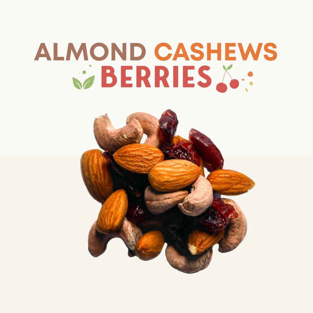 Almond Cashew Berries - Boxgreen