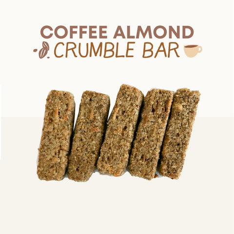 Coffee Almond Crumble Bar