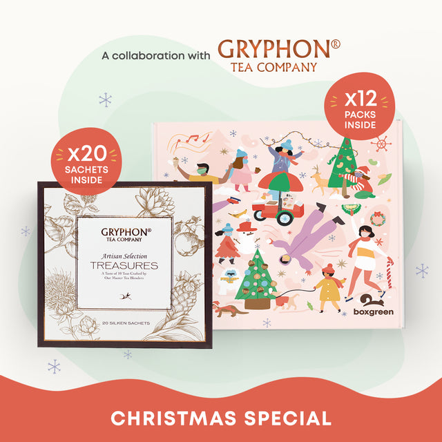 Gryphon Tea x Boxgreen Gift Set