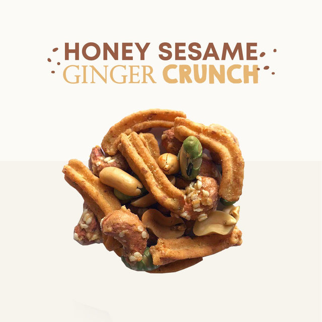 Honey Sesame Ginger Crunch - Boxgreen