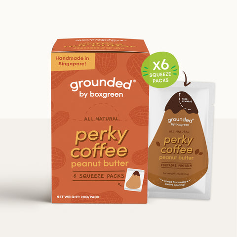 Grounded Perky Coffee Peanut Butter