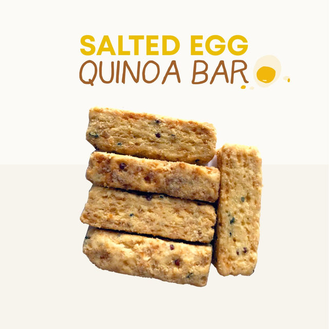 Salted Egg Quinoa Bar - Boxgreen