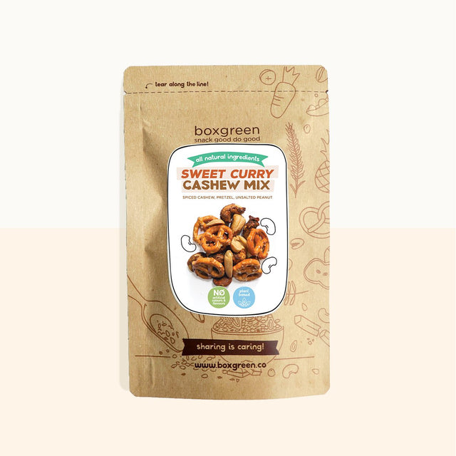 Sweet Curry Cashew Mix