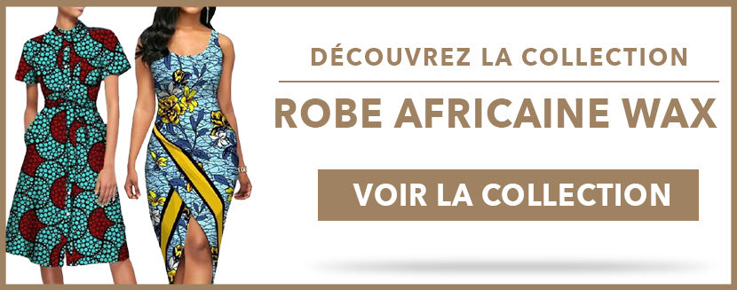 Collection Robe Africaine Wax Afro Nation