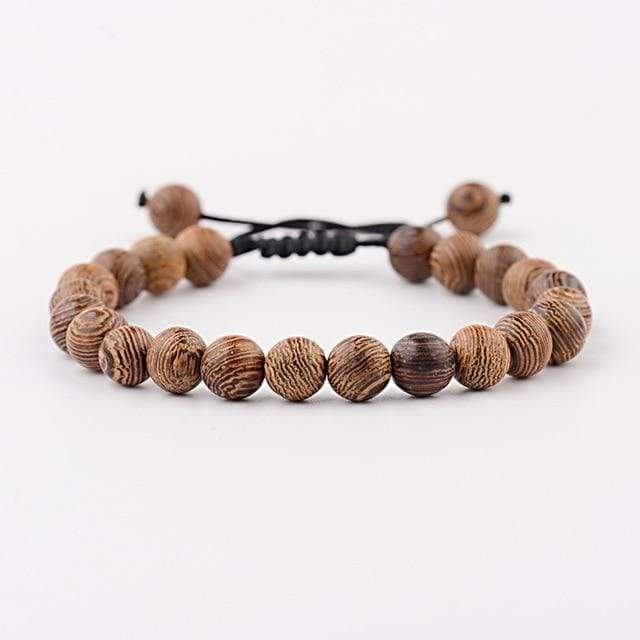 Bracelet Africain Perle Marron  | Afro Nation