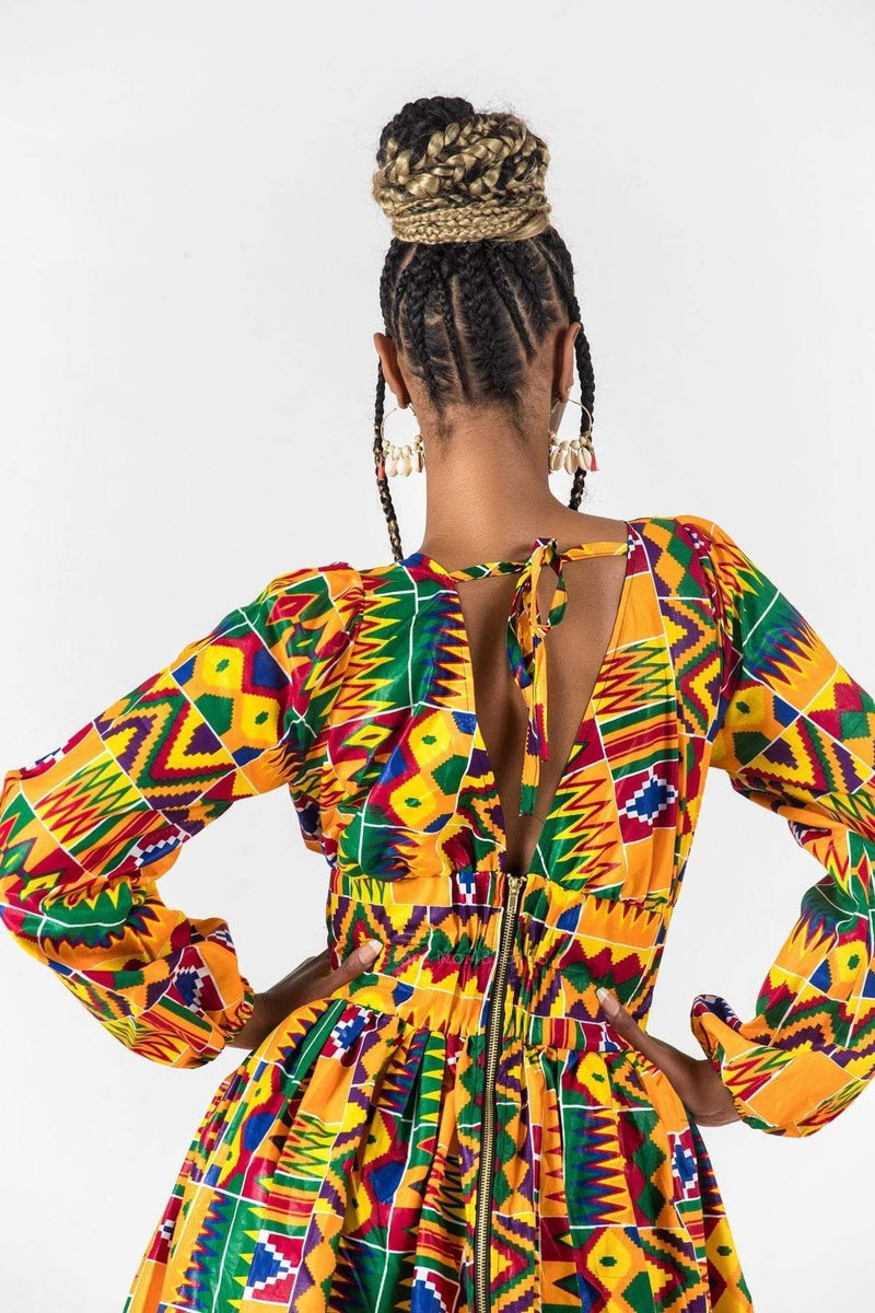 Robe Africaine Courte Africa | Afro Nation