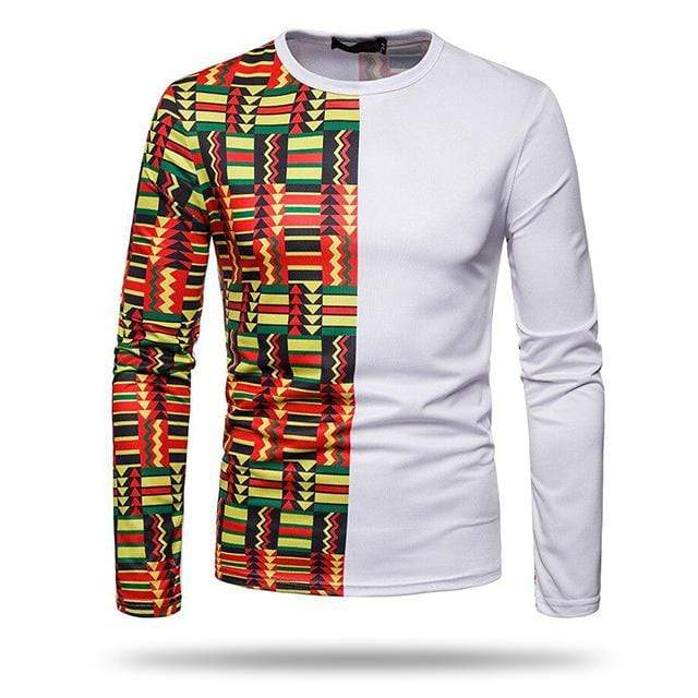 T-shirt Africaine Homme Coloré
