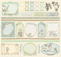"Lullaby Boy 12""x12"" Sticker Sheet"