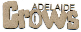 Adelaide Crows Chipboard Wordlet