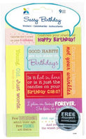 Sassy Birthday Stickers
