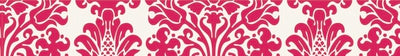 Printed Tape - Pink Damask