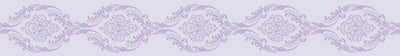 Printed Tape - Damask - Purple