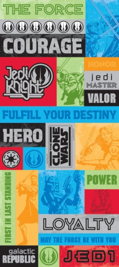 Clone Wars Jumbo Stickers