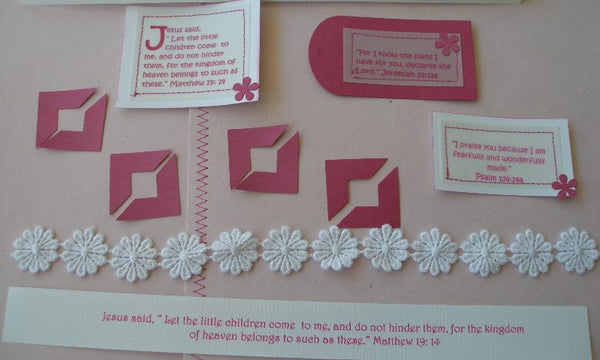 Handmade Scrapbook Kit - Girl