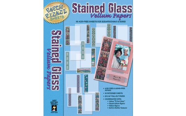 Stained Glass Vellum Papers