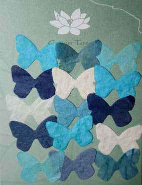 Mini Blue Butterflies