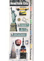 NYC Cardstock Stickers