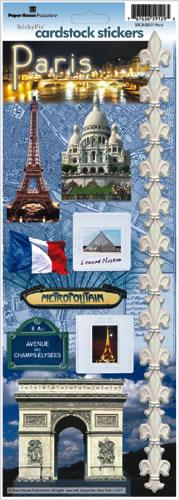 Paris Cardstock Stickers