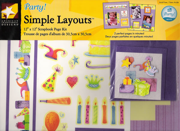 Simple Layouts - Party