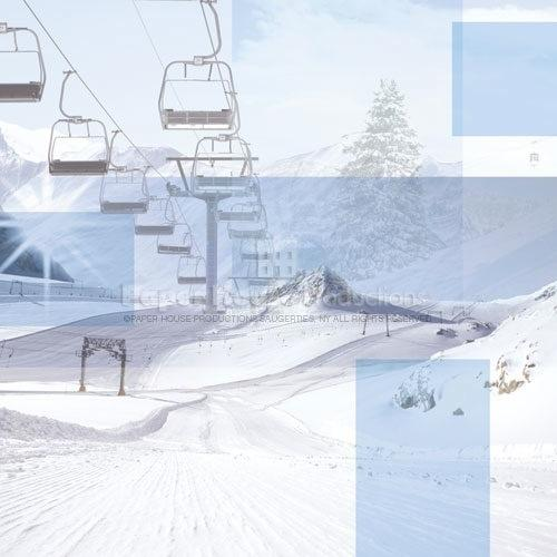 Skiing Collage