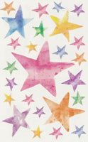 Stars - Vellum Stickers