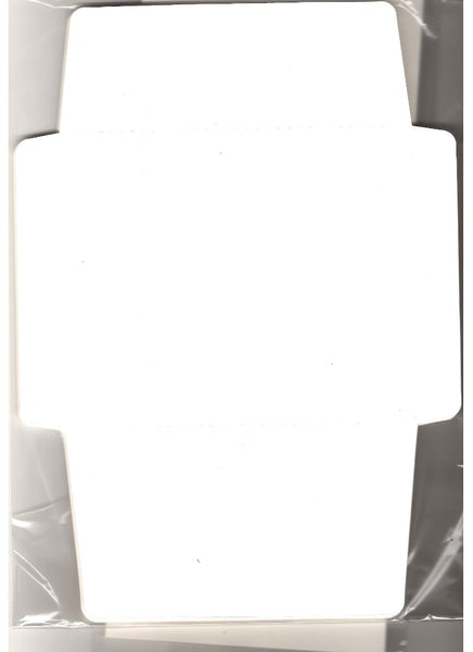 Pack of Ten Cards and Envelopes - White