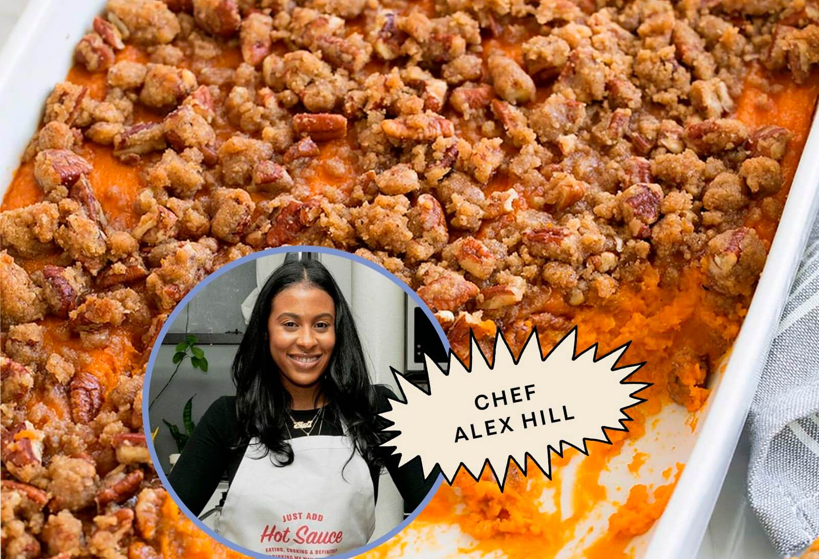 Mom's Sweet Potato Casserole with Alex Hill
