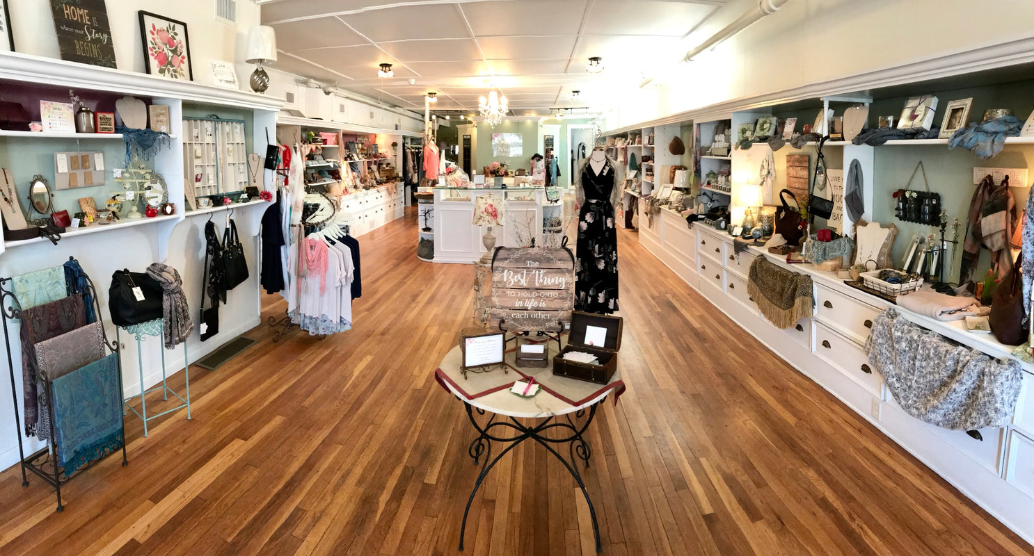 Pastiche Boutique Inside View