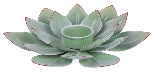Metal Succulent Tealight Holder