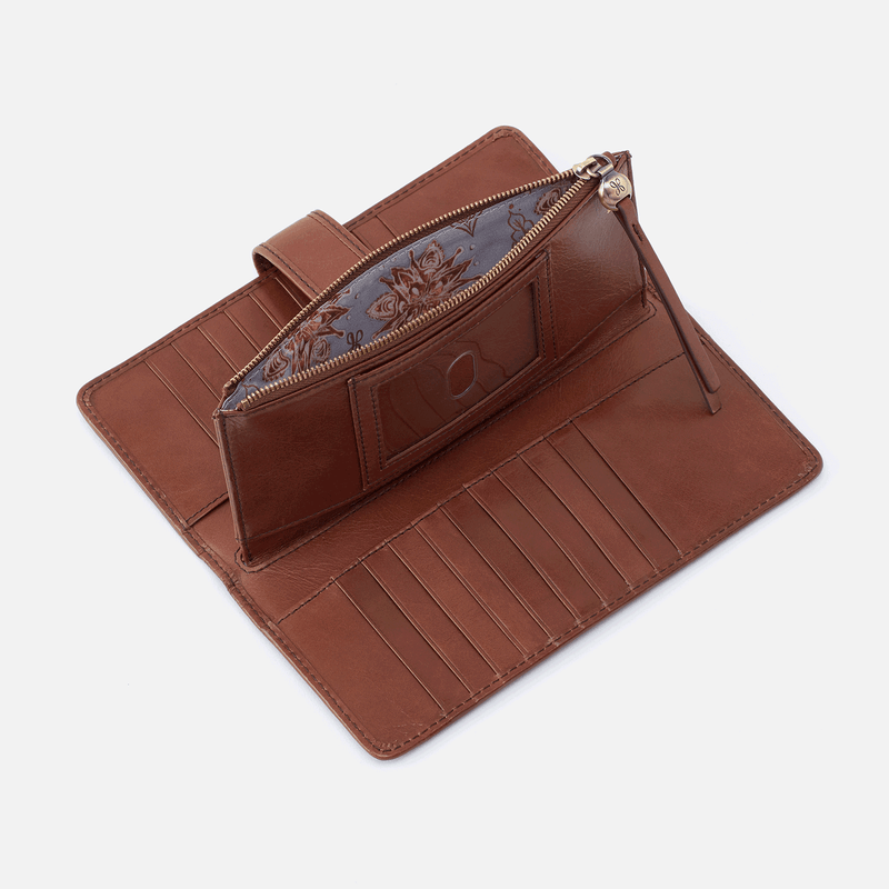 Roman Snap Zip Wallet