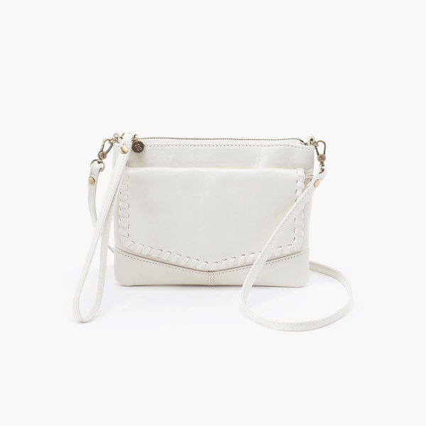 Stroll Whipstitch Foldover Convertible Crossbody Clutch