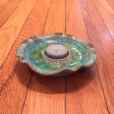 Pottery Tealight Candle Holder