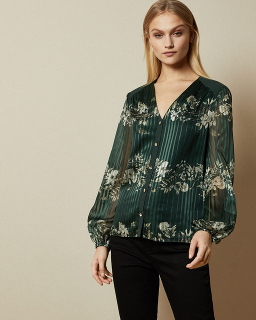 Meadow Sweep long sleeved blouse